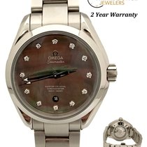 Omega Seamaster Aqua Terra Steel Mother of pearl United States of America, New York, Huntington Village