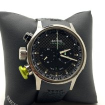Edox Chronorally Titanio 45mm Negro