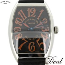 Franck Muller Steel Automatic Black 34mm pre-owned Casablanca