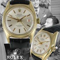 Rolex Ovettone Gelbgold Ref. 6075