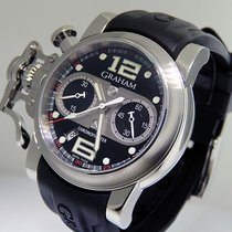 Graham Chronofighter R.A.C. Steel 43mm Black United States of America, California, Los Angeles