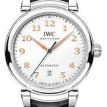 IWC Da Vinci Automatic Steel 40mm Silver Arabic numerals United States of America, New York, NEW YORK