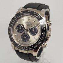Rolex Daytona 18K White Gold Ceramic 40mm Watch Full Set