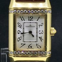 Jaeger-LeCoultre Reverso Lady's, Yellow Gold Factory Diamond...