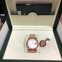 Rolex Day-Date II Yellow gold 41mm Roman numerals