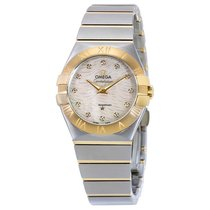 Omega Ladies 12320276055008 Constellation 18 kt Yellow Gold Watch