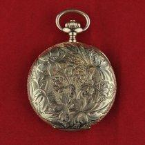 Omega Horloge tweedehands Geelgoud 50mmmm Arabisch Handopwind Alleen het horloge