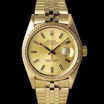 Rolex Datejust 16018 Sehr gut Gelbgold 36mm Automatik Österreich, Wien