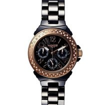 Lancaster Italy Ceramic Diamonds Watch 36 mm Black 0.59 ct...