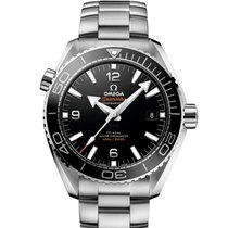 Omega Seamaster Planet Ocean Acier 43.5mm Noir Arabes France, Paris