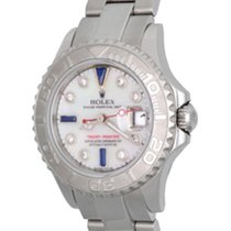Rolex Yacht-Master pre-owned 29mm Mother of pearl Date Steel