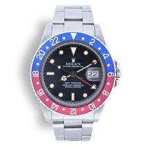 Rolex GMT-Master Steel 40mm Black No numerals United Kingdom, Fareham