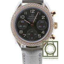 Omega Speedmaster Ladies Chronograph Steel 38mm Grey Arabic numerals