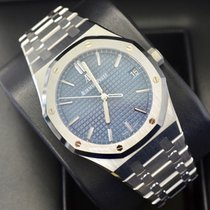 Audemars Piguet Royal Oak Steel 41mm Blue No numerals