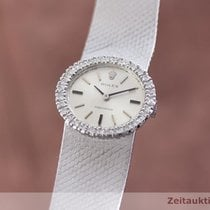 Rolex Oyster Precision Or blanc 22.5mm Argent