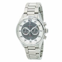 TAG Heuer Carrera Calibre 36 pre-owned 43mm Grey Steel
