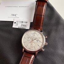 IWC Portofino Chronograph Stahl 42mm Silber Deutschland, Brilon