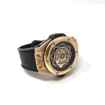 Hublot Big Bang Sang Bleu Ouro rosa 45mm Preto