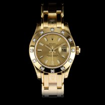 Rolex Lady-Datejust Pearlmaster nuevo 2014 Automático Reloj con estuche y documentos originales 80318