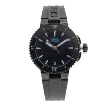 Oris Steel 36mm Automatic Aquis pre-owned