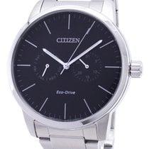 Citizen Acier 43.6mm Quartz AO9040-52E nouveau