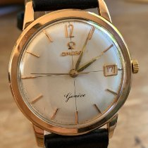 Omega Rose gold Manual winding Champagne No numerals 34mm pre-owned Genève