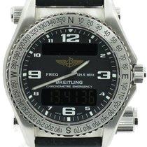 Breitling Emergency Titan 43mm Crn Arapski brojevi