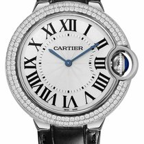 Cartier Ballon Bleu 40mm Белое золото Cеребро