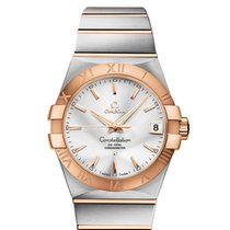 Omega Constellation Men Gold/Steel 38mm Silver