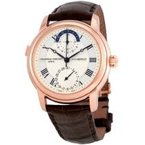 Frederique Constant Manufacture Or/Acier 42mm Transparent
