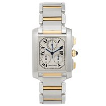 Cartier CRW51004Q4 Tank Française 28mm pre-owned United States of America, Texas, Dallas