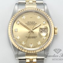 Rolex Lady-Datejust Or/Acier 36mm Or