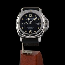 Panerai Luminor Submersible Acero 44mm Negro Arábigos España, Madrid