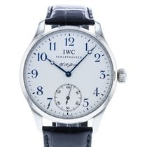 IWC Portuguese Hand-Wound IW5442-03 pre-owned