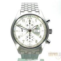 IWC Fliegeruhr Spitfire Chronograph Stahl 42mm Silber Arabisch Deutschland, Bietigheim-Bissingen
