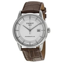 Tissot Luxury Automatic Steel 41mm Silver No numerals