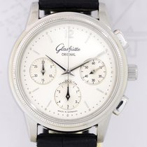 Glashütte Original Senator Chronograph Silver Stardust...