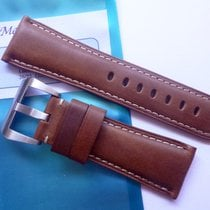 Bodhy Leather strap in 26mm - Brown in 26/22mm for your Panerai