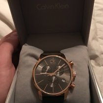 ck Calvin Klein City Chronograph Rose gold