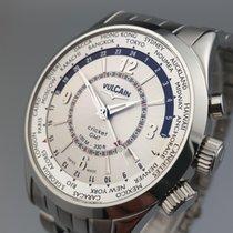Vulcain Reloj de dama Aviator 42mm Cuerda manual nuevo Reloj con estuche y documentos originales