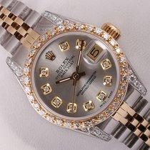 ロレックス (Rolex) Lady Datejust 2 Tone-Diamond Lugs-Gray Diamond...