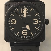 Bell & Ross Aviation 01-92 Carbon Black BOX PAPERS 46mm Auto