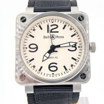 Bell & Ross Aviation Br01-92 46mm Automatic Complete Set Mint...