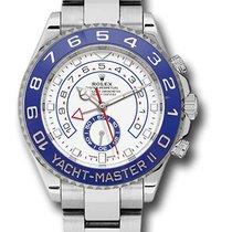 Rolex Yacht-Master II 116680 Stainless Steel Watch (White)