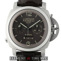Panerai Luminor 1950 8 Days Chrono Monopulsante GMT PAM 311 pre-owned