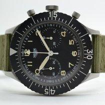 Heuer Bund Bundeswehr Chronograph Flyback Versorgungsnummer
