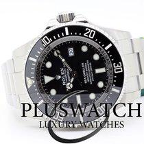 Rolex Sea-Dweller Deepsea Acciaio 44mm Nero Senza numeri Italia, l'aquila