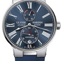 Ulysse Nardin Marine Torpilleur 1183-310-3/43 - ULYSSE NARDIN MARINE TORPILLEUR GOMMA BLU новые