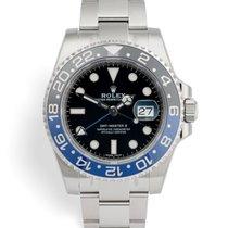 Rolex 116710BLNR GMT-Master II -  Fully Stickered Batman