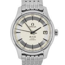 Omega De Ville Hour Vision Steel 41mm Silver United States of America, New York, Smithtown